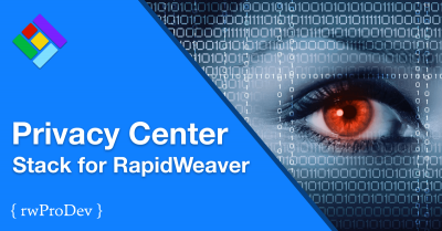 Privacy Center Stack for RapidWeaver