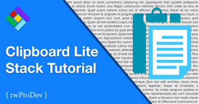 Clipboard Lite Stack Tutorial