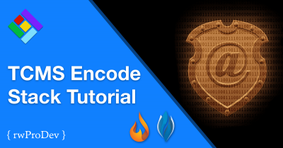 TCMS Encode Stack for RapidWeaver Tutorial