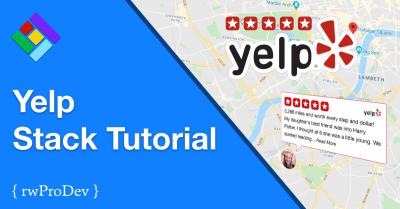 Yelp Reviews Stack Tutorial