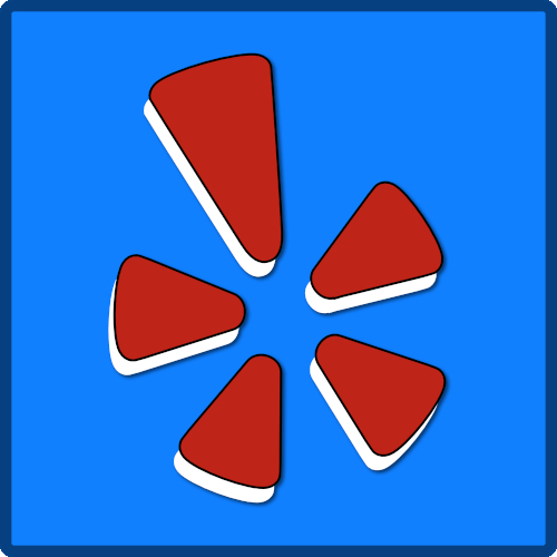 Yelp Reviews Stack Logo